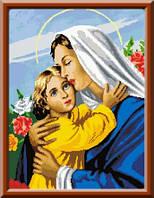 Схема для вышивки икона Матерь Божья Ласковая