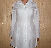 Халат медицинский женский р.р 42-52, габардин оптом