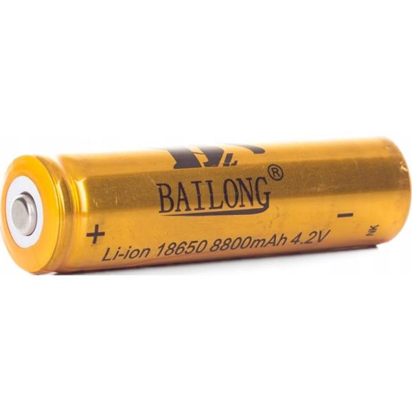 Аккумуляторная Батарейка BATTERY Bailong 18650 GOLD 8800 mAh