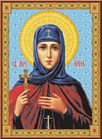 Схема для вышивки икона Святая Анна Кашинская