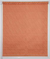 Готовые рулонные шторы 325*1500 Ткань Вода 1844 Коралл