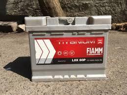 Fiamm 6СТ-60 Аз TITANIUM PRO Автомобильный аккумулятор
