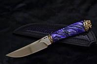 """Коллекционный нож ручной работы """"Mysterious stranger"""", N690 (статусный подарок юристу, адвокату, бизнесмену)"""