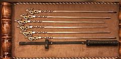 Подарочные наборы шампуров в колчанах, чехлах и без упаковки