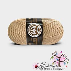 Пряжа Madame Tricote Paris Мерино голд, №114, карамель
