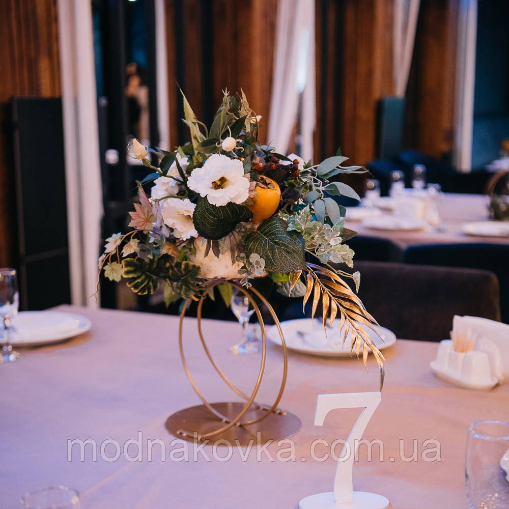 Подставка для свадебной композиции на стол, стойка для цветочных композиции