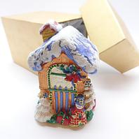 Шкатулка для ювелирных украшений VIT Рождественский Домик