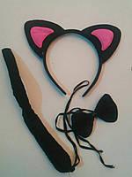 Набор Кошечка розовые ушки