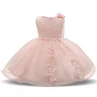Детское нарядное пышное платье на годик р 80-86
