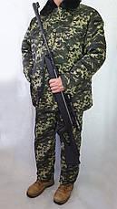Бушлат камуфляжний зелений піксєль, фото 3