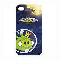 Чохол Angry Birds Protective Case Space King Pig Green for iPhone 4/4S (ICAS418G)