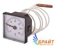 Термометр с выносным датчиком SD176  0-120°C 48x48мм