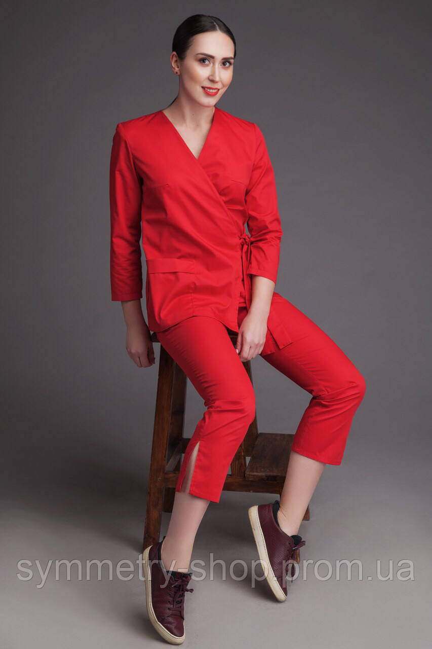 0502, костюм красный, фото 1
