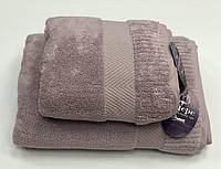Полотенце Gestepe Premium  50-90 см сиреневое, фото 1