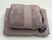 Рушник Gestepe Premium 50-90 см бузкове, фото 1