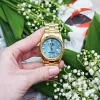 Наручные часы Rolex Date Just Gold-Blue Pearl, фото 3