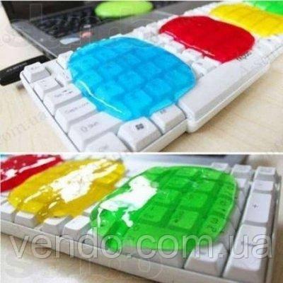 Гелевый очиститель клавиатуры Лизун 80г