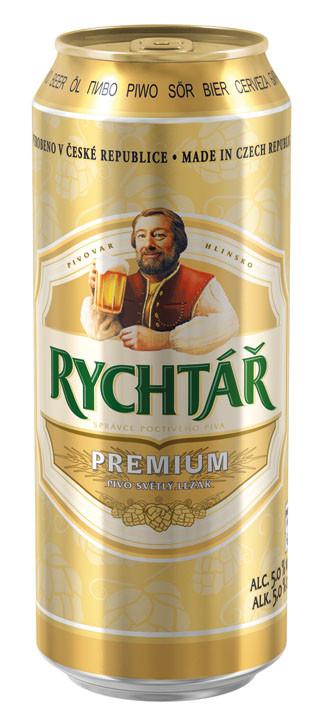 Чешское пиво Rychtar - Premium (Рихтарж)