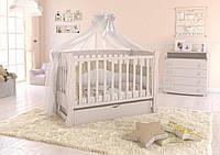 Дитяче ліжечко Angelo Lux-1 Слонова кість, фото 1