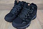 Мужские зимние кроссовки Merrell Moab (черные), фото 7