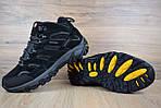 Мужские зимние кроссовки Merrell Moab (черные), фото 9