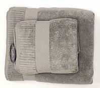 Рушник Gestepe Premium 50-90 см коричневий, фото 1