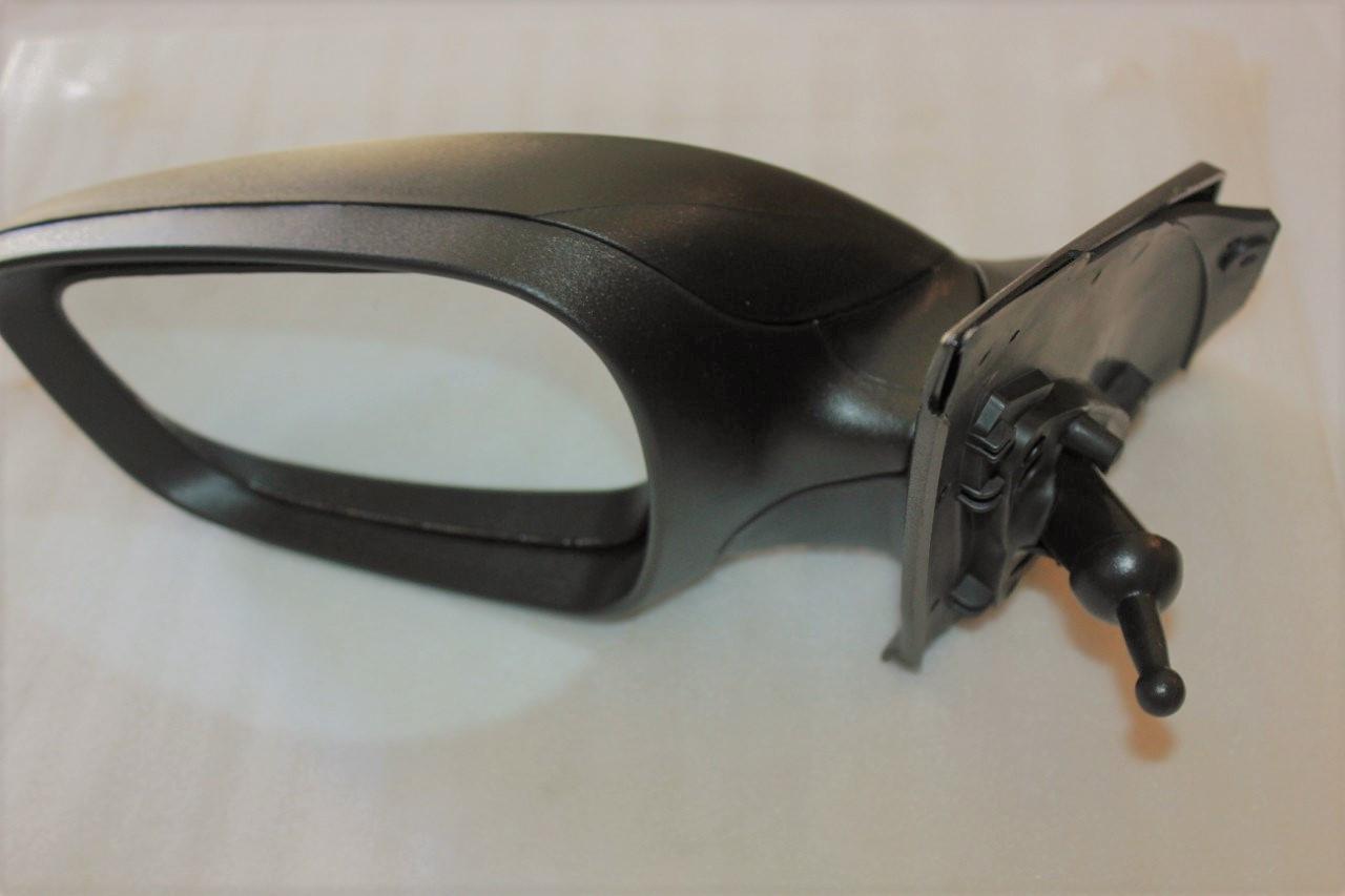 Зеркало левое механич без подогрева(черное) Hyundai Solaris/KIA с 2011г GROG