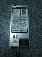 Блок питания 750Вт f750e-s0 Dell PowerEdge R520, R620, R720 , R720XD, 820, 920,T320, T420,T620 DL4000 DR4100