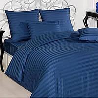 Синее постельное белье сатин евро Турция Always, Синий