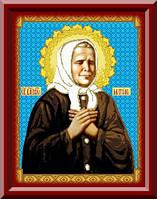 Схема для вышивки икона Святая Праведная Блаженная Матрона Московская