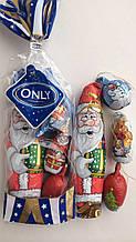 Новогодние конфеты Only Дед Мороз и шишки на елку 100 гр Австрия