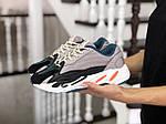 Женские кроссовки Adidas Yeezy Boost 700 (капучино), фото 2