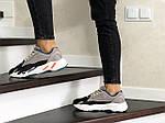 Женские кроссовки Adidas Yeezy Boost 700 (капучино), фото 3