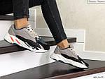 Женские кроссовки Adidas Yeezy Boost 700 (капучино), фото 4