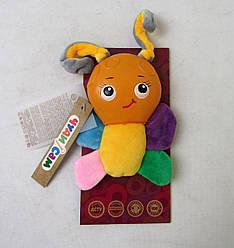 Развивавающая мягкая игрушка Бабочка, А055