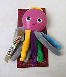 Развивавающая мягкая игрушка Осьминожка, А053