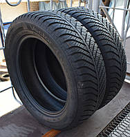 Шины б/у 215/60 R17 Goodyear Vector 4 Seasons, ВСЕСЕЗОН, пара