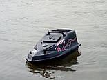 Карповый радиоуправляемый кораблик для завоза прикормки Фантом с эхолотом Toslon TF500, фото 7