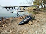 Карповый радиоуправляемый кораблик для завоза прикормки Фантом с эхолотом Toslon TF500, фото 10