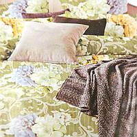 Байковое постельное белье Тиротекс 144х215 Византия, Бежевый