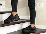 Женские кроссовки Adidas Yeezy Boost 700 (черные), фото 2