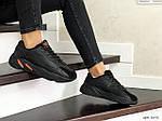Женские кроссовки Adidas Yeezy Boost 700 (черные), фото 3