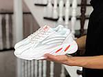 Женские кроссовки Adidas Yeezy Boost 700 (белые), фото 2