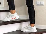 Женские кроссовки Adidas Yeezy Boost 700 (белые), фото 4