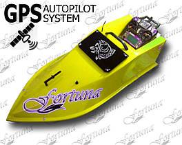 Кораблик для прикормки Фортуна с GPS автопилотом