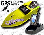 Карповый радиоуправляемый кораблик для завоза корма Фортуна с эхолотом Toslon TF500 и GPS автопилот, фото 2