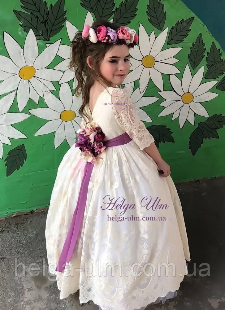 """Святкова сукня """"Камея"""" (відео) на випускний бал, 122"""