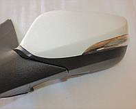 Дзеркало ліве електричне з підігрівом з повторювачем під фарбування Hyundai-KIA до 2014р GROG