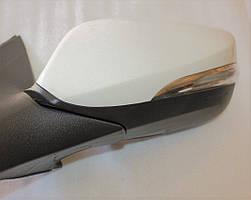 Зеркало левое электрическое с подогревом с повторителем под покраску Hyundai-KIA до 2014г GROG