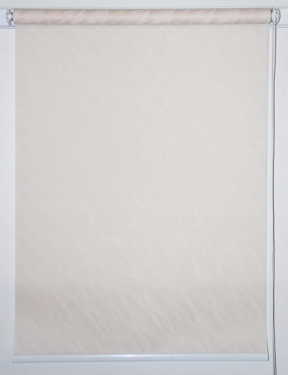 Рулонная штора 975*1500 Вода 1834 Слоновая кость